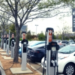 image of electric vehicle charging stations