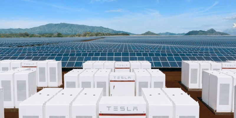 image of solar power with energy storage