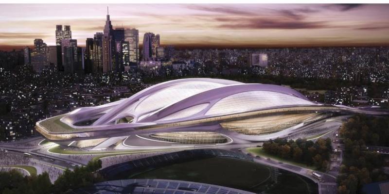 image of Tokyo 2020 Olympics stadium
