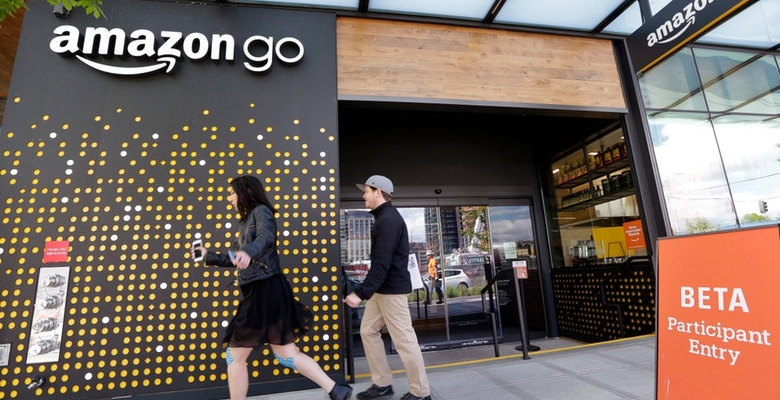 image of amazon cashier-free grocery store