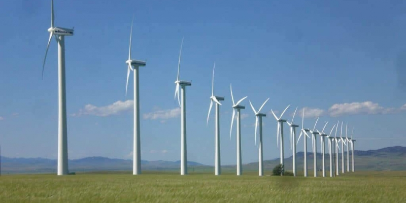 image of renewable electricity wind farm in Canada