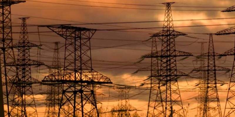 image of old electrical grids