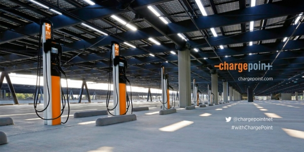 image of ChargePoint chargers
