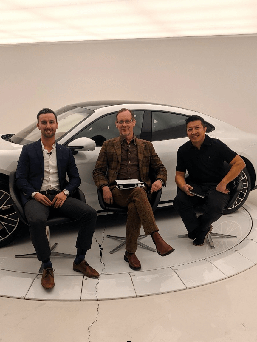 virtuoso with porsche electric vehicle