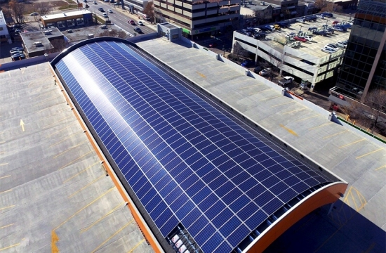 commercial solar installation in Alberta