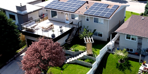 cALGARY nw rESIDENTIAL SOLAR – 10.725Kw SYSTEM