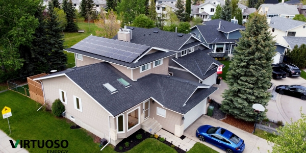 CALGARY NW RESIDENTIAL SOLAR - 6.4KW SYSTEM